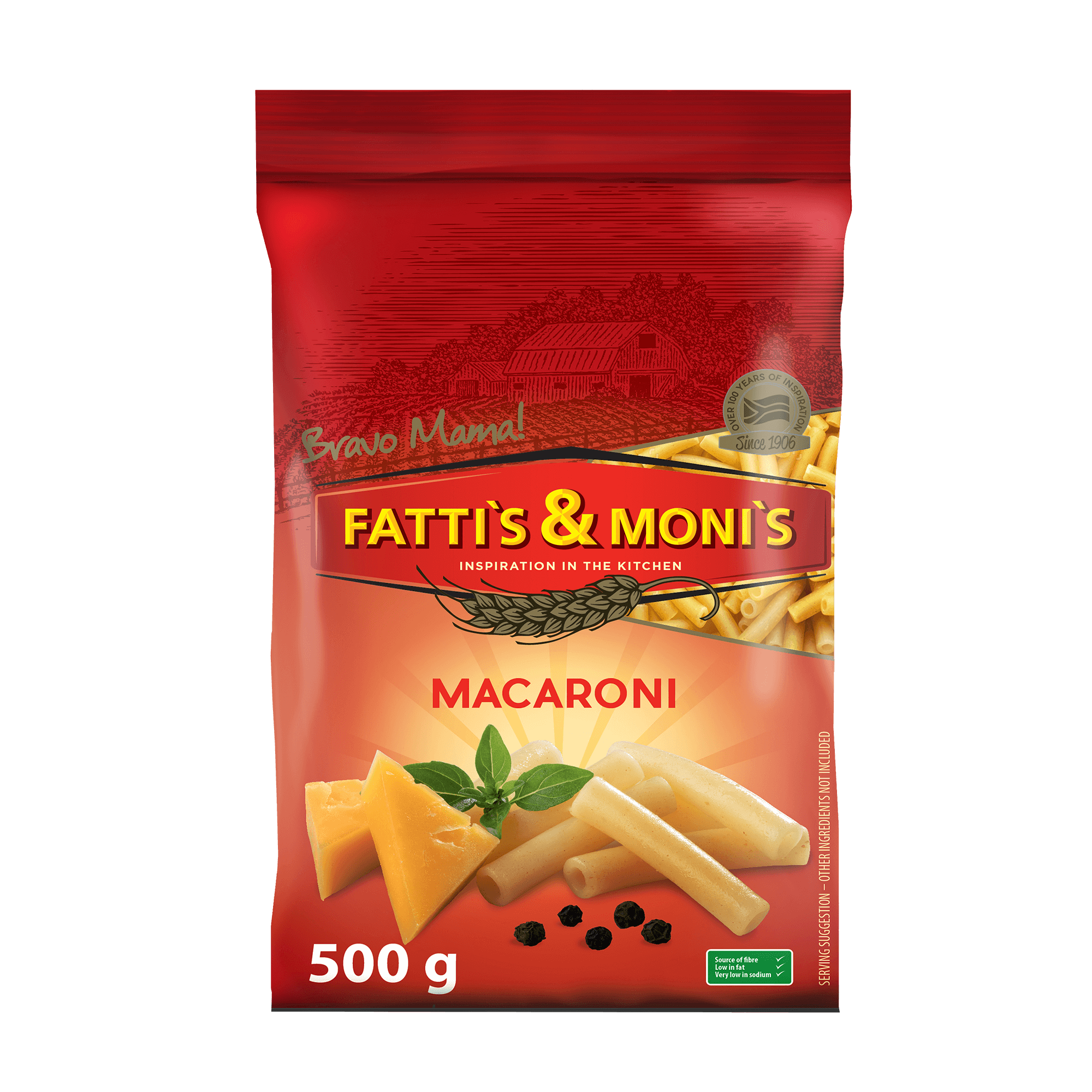 Fattis and Monis Red Macaroni